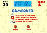 Bronco Trolley Browser Homestar Runner is still hungry!