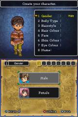 Dragon Quest IX: Sentinels of the Starry Skies Nintendo DS Why does the default male avatar have normal hair but not the default female.