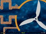 Space Madness Browser The giant rotating knives level.