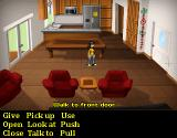 Hey Ash, Watcha Playin'?: The Adventure Game Browser Ash in the living room