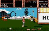 Weird Dreams Amiga The wasp will kill you, whether you're covered with candyfloss or not.
