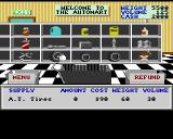 4x4 Off-Road Racing Amiga Automart - here you can buy supplies for the race.