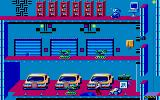 Impossible Mission II DOS Some of Elvin's cars. (MCGA / VGA)