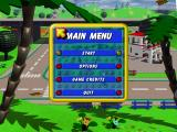 LEGO Island 2: The Brickster's Revenge Windows Main menu