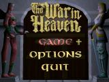 The War in Heaven Windows Main Menu
