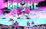 Empire: Wargame of the Century DOS Title picture.
