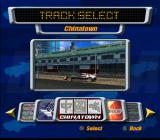 Destruction Derby: Arenas PlayStation 2 Course selection (Wrecking Racing Mode).