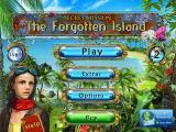 Secret Mission: The Forgotten Island iPad Title / main menu