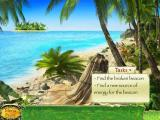 Secret Mission: The Forgotten Island iPad Game start - island beach