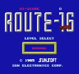 Route-16: Turbo NES Title screen