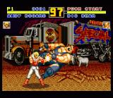 Fatal Fury Special SNES Australia: Andy Bogard vs. Big Bear