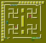 Route-16 Turbo NES The Manji maze room