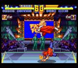 Fatal Fury Special SNES Saturday Night Fever: Duck King and Geese Howard duke it out inside a night club