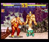 Fatal Fury Special SNES China: with this special move Tung Fu Rue is even larger than Big Bear