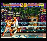 Fatal Fury Special SNES USA: Axel Hawk knocks out Jubei Yamada