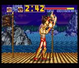 Fatal Fury Special SNES Count Down mode: Wolfgang Krauser doesn't need 3 minutes to finish off Mai Shiranui