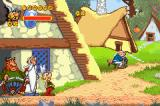 Asterix & Obelix: Bash Them All! Game Boy Advance Starting as Asterix