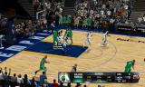 NBA 2K11 Windows Grizzlies power forward Zach Randolph grabs a rebound...