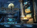Twisted Lands: Shadow Town iPad Title / main menu