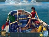 Twisted Lands: Shadow Town iPad Game start - Angel on the boat