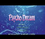 Psycho Dream SNES Title screen