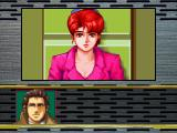 Snatcher SEGA Saturn Talking to Mika