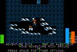Stuart Smith's Adventure Construction Set Apple II Land of Adventuria - On an island on the main map.