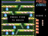 Mr. Do!'s Castle ColecoVision Title screen