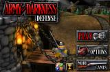 Army of Darkness: Defense iPhone Start menu
