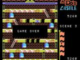 Mr. Do!'s Castle ColecoVision Game over