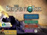 The Serpent of Isis iPad Title / Main menu