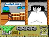 The Flintstones SEGA Master System Adjust position, speed and drift.
