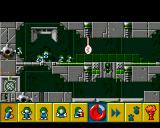 The Lemmings Chronicles Amiga Classic Lemmings - Level 3. Watch out for the lasers! (AGA)