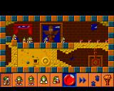 The Lemmings Chronicles Amiga Egyptian Lemmings - Level 1 (AGA)