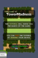 TowerMadness iPhone Instructions