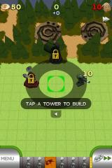 TowerMadness iPhone Tower placement