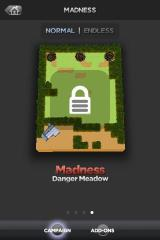 TowerMadness iPhone Levels are unlocked on previous map success