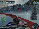 Sno-Cross Championship Racing Windows Single Race : of the worst things that can happen in a race is a collision that turns the player around.