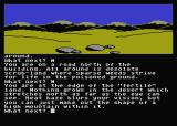 Jewels of Darkness Atari 8-bit Adventure Quest: a desert lies before me