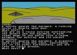Jewels of Darkness Atari 8-bit Adventure Quest: escaping the sand worm