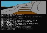 Jewels of Darkness Atari 8-bit Adventure Quest: from the desert, I set out to explore the mountains
