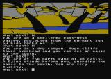 Jewels of Darkness Atari 8-bit Adventure Quest: looks like quenching my thirst won't be easy here