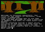 Jewels of Darkness Atari 8-bit Colossal Adventure: starting location