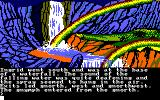 Gnome Ranger Amstrad CPC Waterfall with rainbow