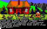 Gnome Ranger Amstrad CPC Who might live in this house?