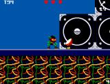 Zool SEGA Master System World 2 has a musical theme, and not surprising, you have to fight instruments-