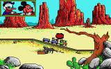 Goofy's Railway Express Atari ST Out west screen