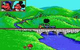 Goofy's Railway Express Atari ST Final screen and train has turned around to replay screens