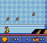 Tom and Jerry in Mouse Attacks! Game Boy Color At the beginning...