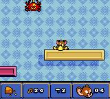 Tom and Jerry in Mouse Attacks! Game Boy Color Look like Jerry was hit too much ;(